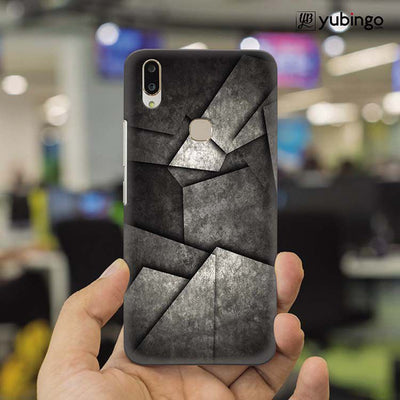 Shades Of Grey Back Cover for Vivo X21-Image2