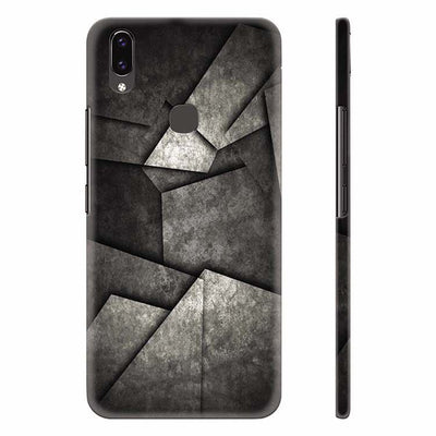 Shades Of Grey Back Cover for Vivo X21