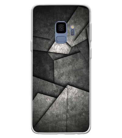 Shades Of Grey Back Cover for Samsung Galaxy S9