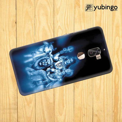 Shiv Parvati Back Cover for Coolpad Cool 1-Image3