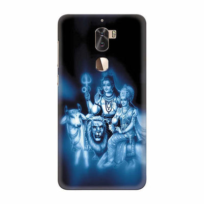 Shiv Parvati Back Cover for Coolpad Cool 1