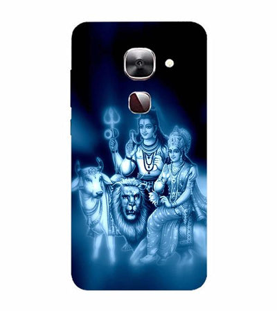 Shiv Parvati Back Cover for LeEco Le 2s