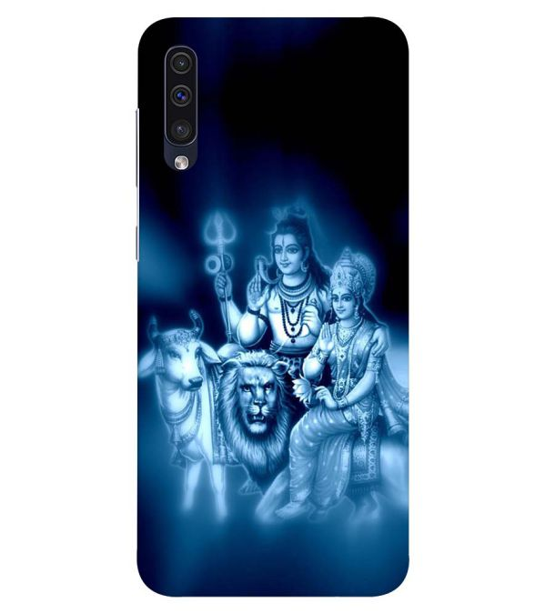 Shiv Parvati Back Cover for Samsung Galaxy A50