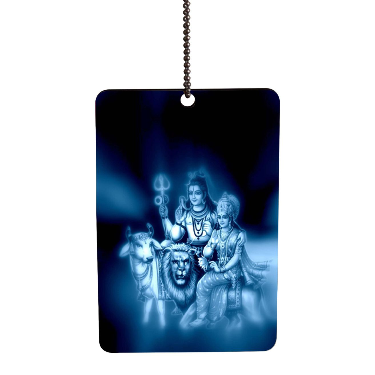 Shiv Parvati Car Hanging