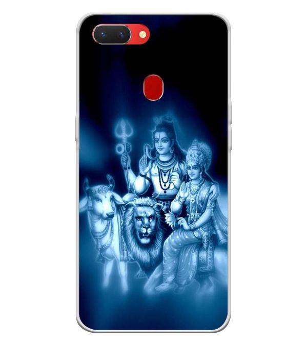 Shiv Parvati Back Cover for Oppo Realme 2-Image3
