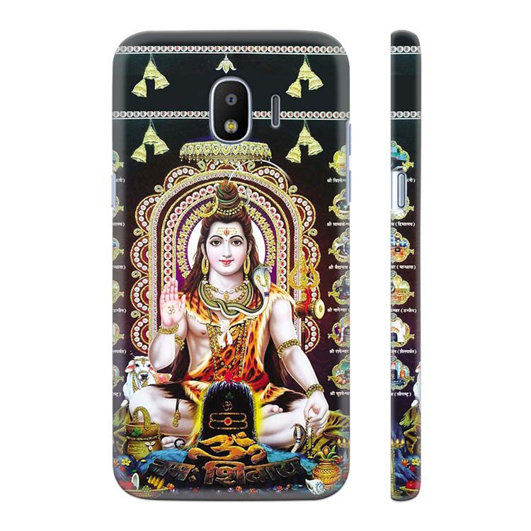 Shiva Back Cover for Samsung Galaxy J2 (2018)