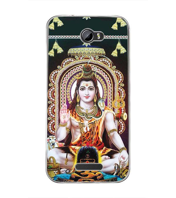 Shiva Back Cover for Intex Lion 3