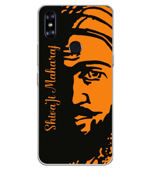 Shivaji Maharaj Soft Silicone Back Cover for Itel A62