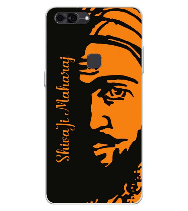 Shivaji Maharaj Soft Silicone Back Cover for Lava Z90