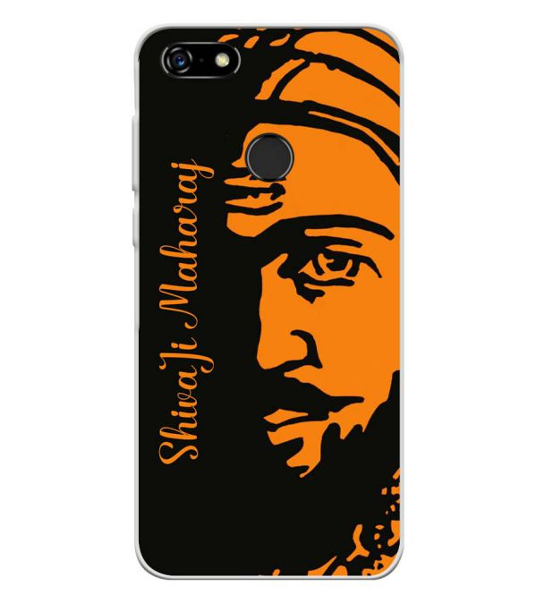 Shivaji Maharaj Soft Silicone Back Cover for Lenovo A5