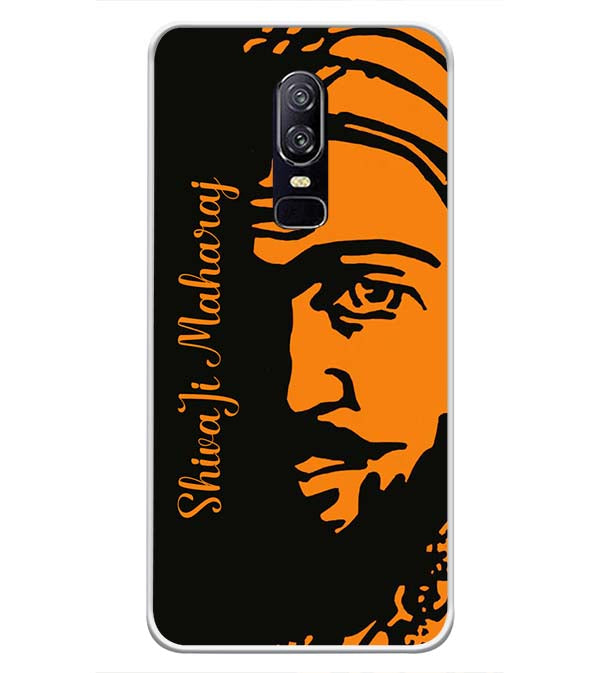 Shivaji Maharaj Soft Silicone Back Cover for OnePlus 6