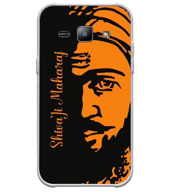 pretty nice fcbe9 3b671 Shivaji Maharaj Soft Silicone Back Cover for Samsung Galaxy J1 Ace