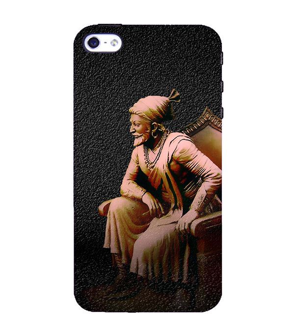 Shivaji Photo Back Cover for Apple iPhone 4 : 4S