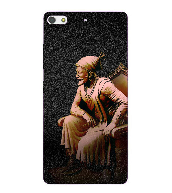 Shivaji Photo Back Cover for Gionee Elife S7