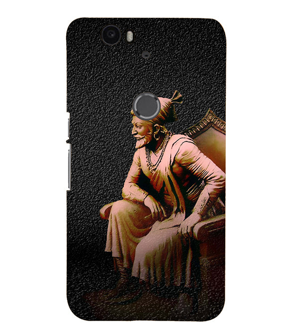 Shivaji Photo Back Cover for Google Nexus 6P