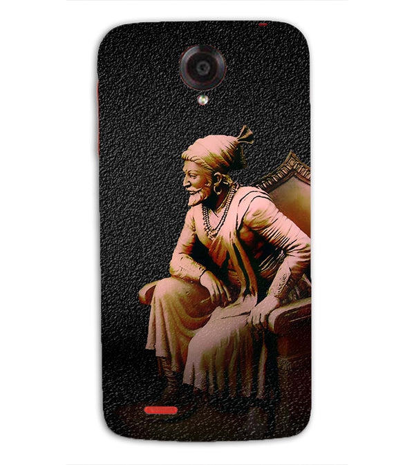 Shivaji Photo Back Cover for Lenovo S820