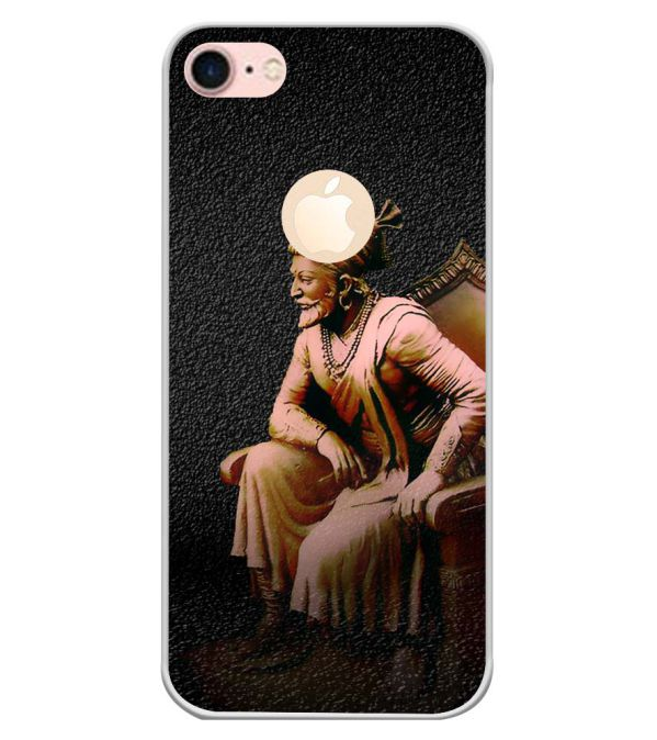 Shivaji Photo Back Cover for Apple iPhone 7 (Logo)-Image3