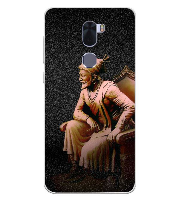 Shivaji Photo Soft Silicone Back Cover for Coolpad Cool 1