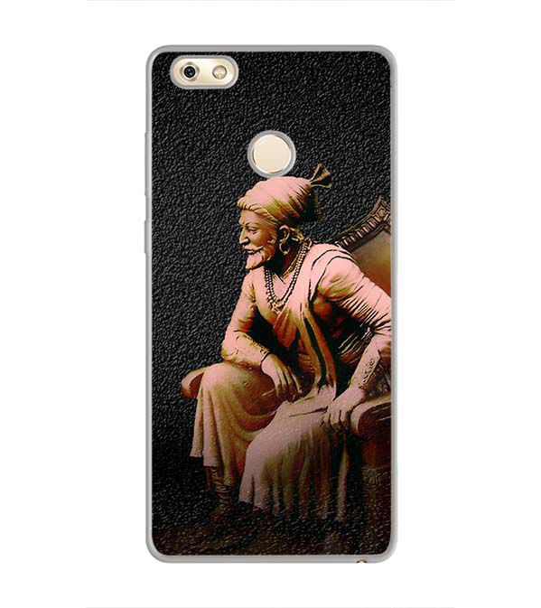 Shivaji Photo Back Cover for Gionee M7 Power