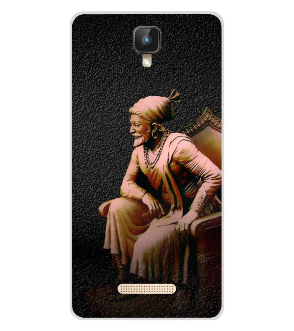 Shivaji Photo Soft Silicone Back Cover for Intex Aqua Lions 2 4G