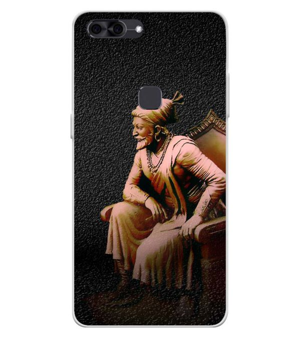 Shivaji Photo Soft Silicone Back Cover for Lava Z90
