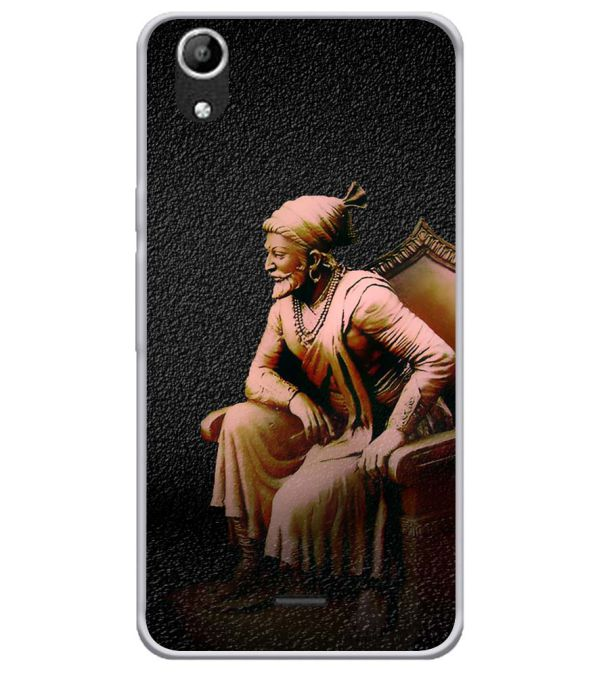 Shivaji Photo Soft Silicone Back Cover for Micromax Selfie Lens Q345