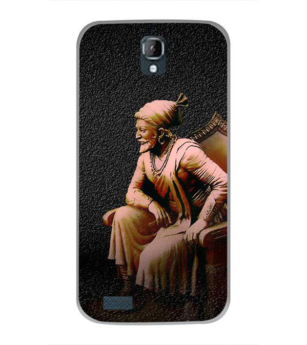 Shivaji Photo Back Cover for Panasonic Eluga Icon