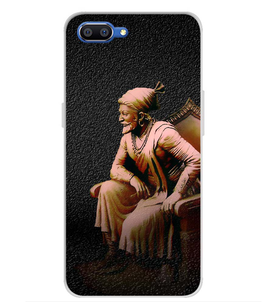 Shivaji Photo Back Cover for Realme C1 (2019)