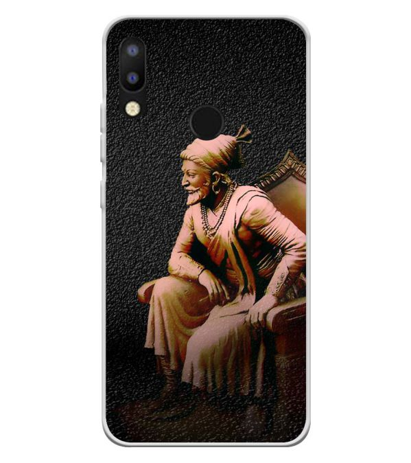 Shivaji Photo Soft Silicone Back Cover for Tecno Camon i2