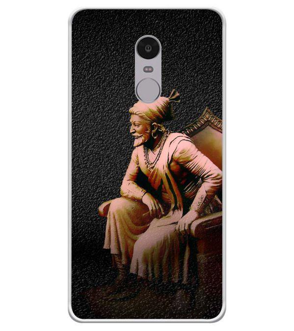 Shivaji Photo Soft Silicone Back Cover for Xiaomi Redmi Note 4