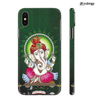 Shubh Labh Back Cover for Apple iPhone X