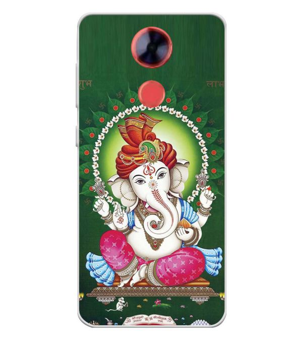Shubh Labh Soft Silicone Back Cover for Comio X1