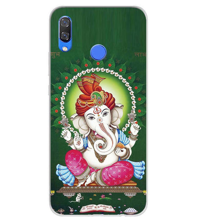 Shubh Labh Soft Silicone Back Cover for Huawei Y9 (2019)