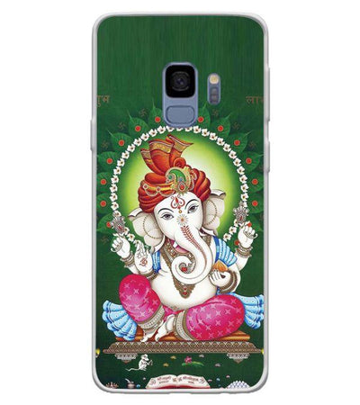 Swastik and Ganesha Back Cover for Samsung Galaxy S9-Image4