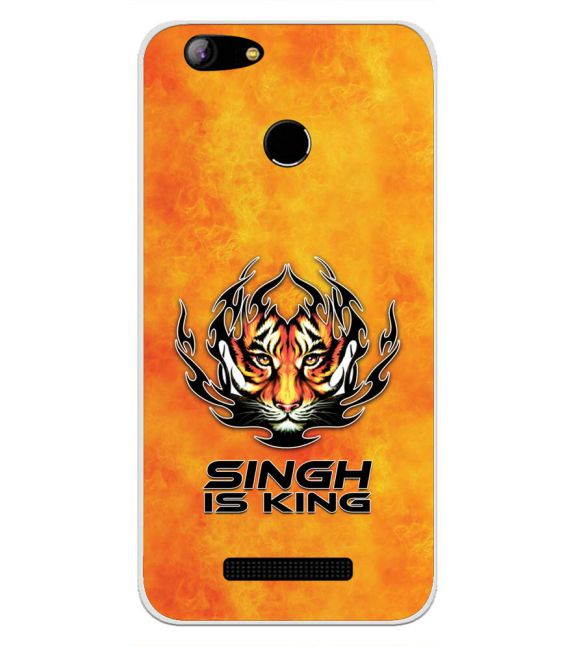 Singh Is King Back Cover for Intex Aqua Lions X1-Image3