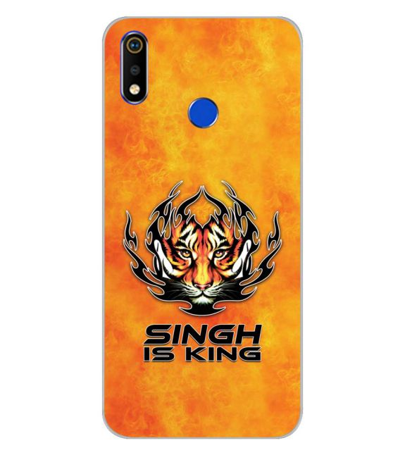 Singh Is King Back Cover for Realme 3i-Image3