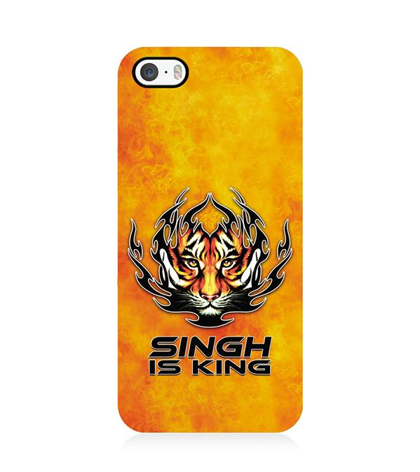 Singh Is King Back Cover for Apple iPhone 5 and iPhone 5S and iPhone SE