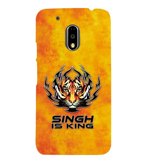 Singh Is King Back Cover for Motorola Moto G4 and Moto G4 Plus