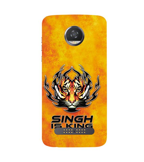 Singh Is King Back Cover for Motorola Moto Z2 Play