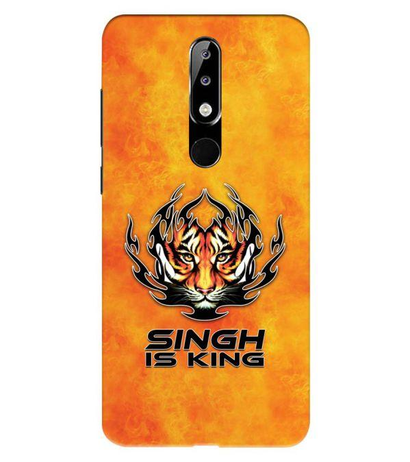 Singh Is King Back Cover for Nokia 5.1 Plus (Nokia X5)