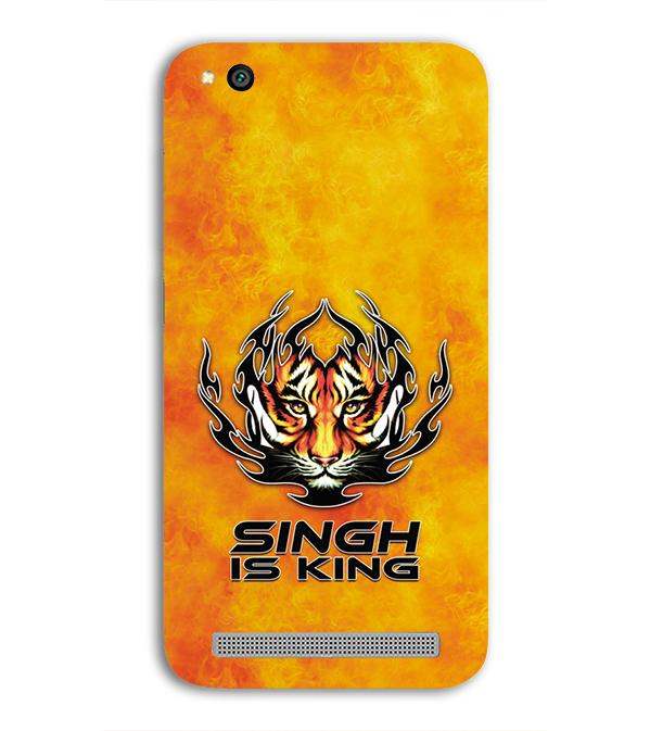 Singh Is King Back Cover for Xiaomi Redmi 5A