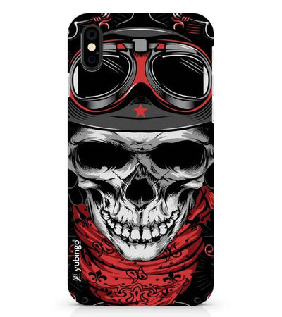 Skull Army Back Cover for Apple iPhone X