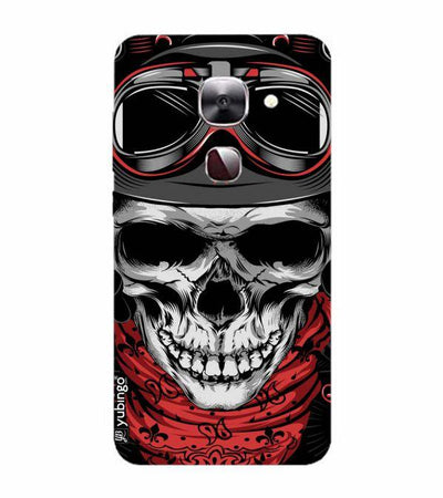 Skull Army Back Cover for LeEco Le 2s