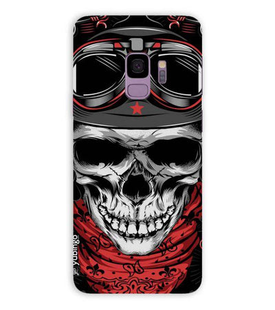Skull Army Back Cover for Samsung Galaxy S9