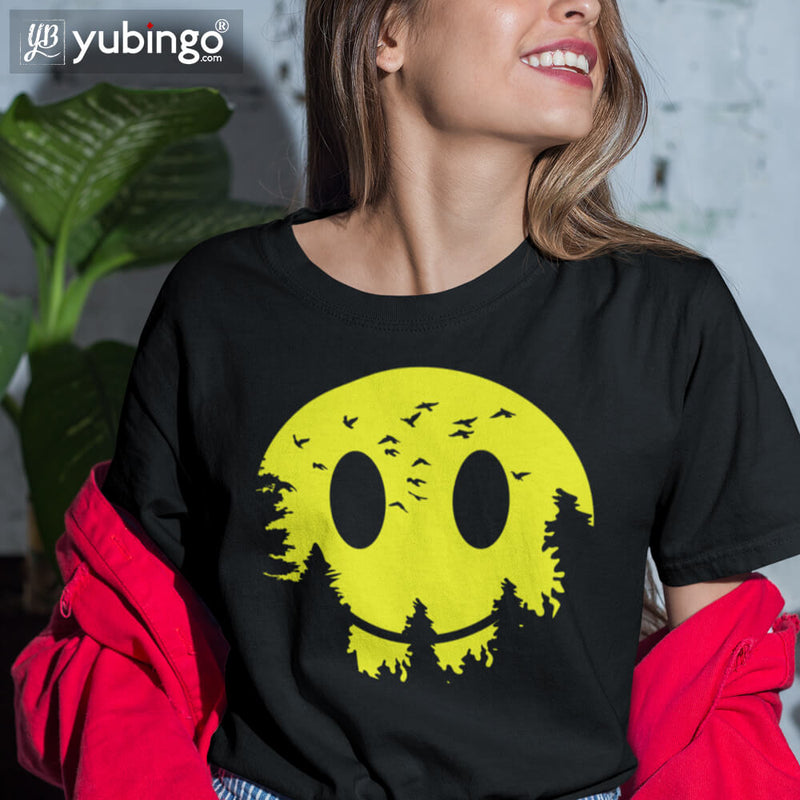 Smiley Moon T-Shirt