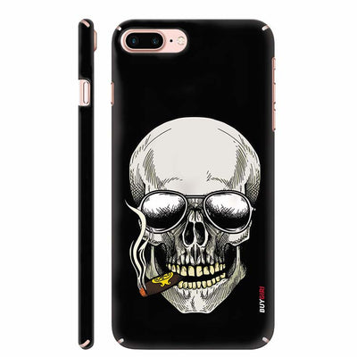 Smoking Skull Back Cover for Apple iPhone 8 Plus