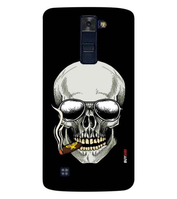 Smoking Skull Back Cover for LG K8