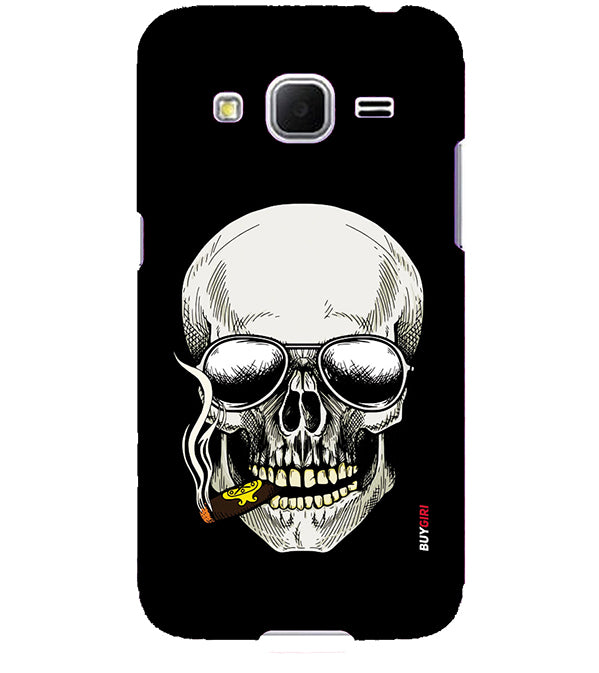 separation shoes 56c08 89977 Smoking Skull Back Cover for Samsung Galaxy Core Prime