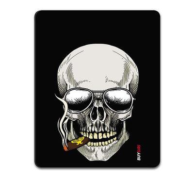 Smoking Skull Mouse Pad