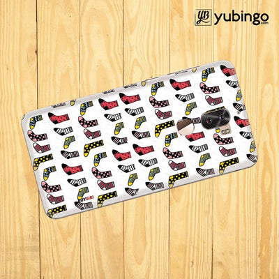 Socks Pattern Back Cover for Coolpad Cool 1-Image3